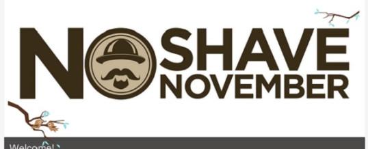 No Shaving this November